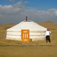 For part of the time we spent in Mongolia, we stayed at a yurt camp. Here's a short video tour of our desert home and breakfast venue! Welcome to our Crib!